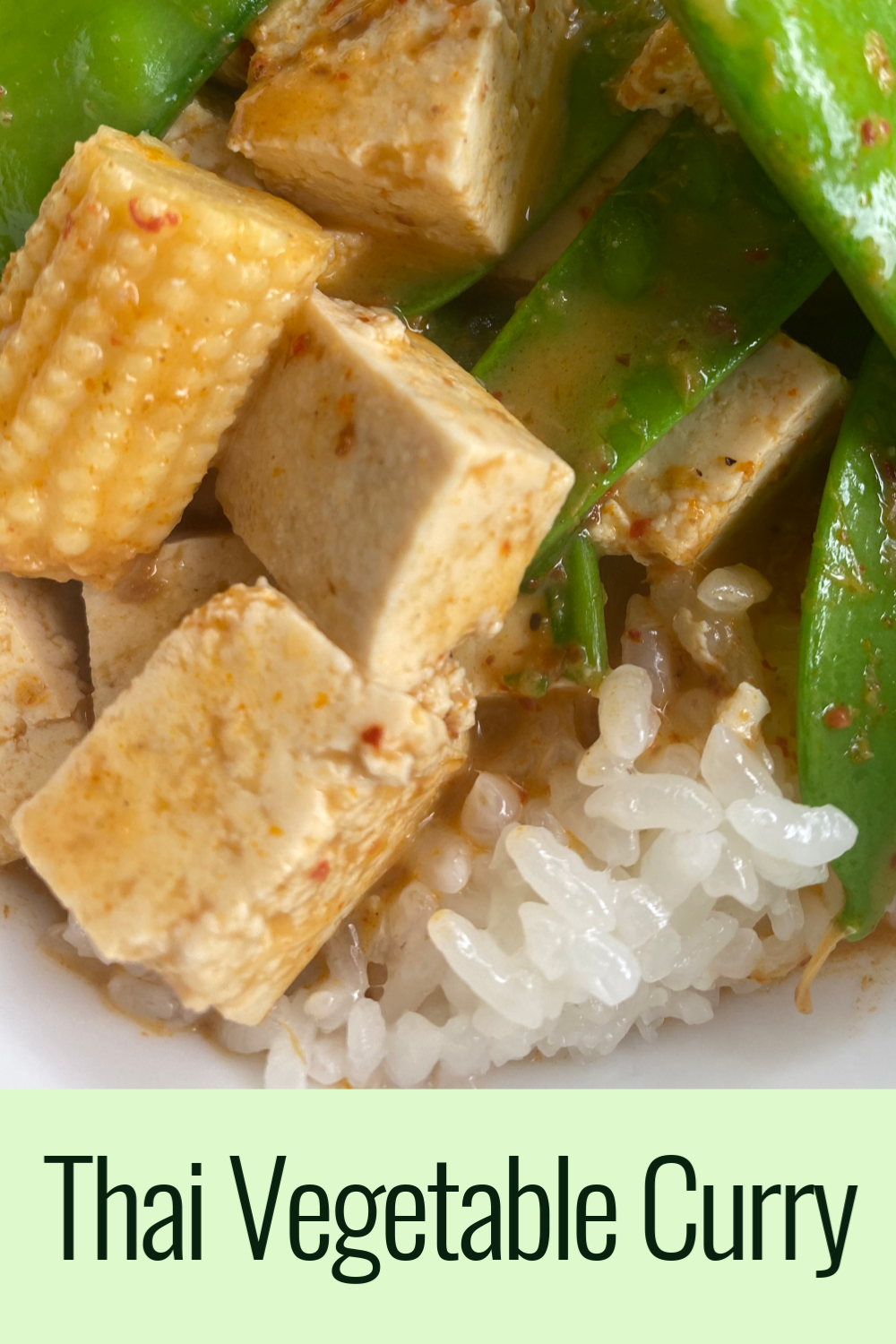 Thai Tofu Vegetable Curry
