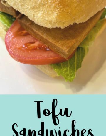 Tofu Sandwiches
