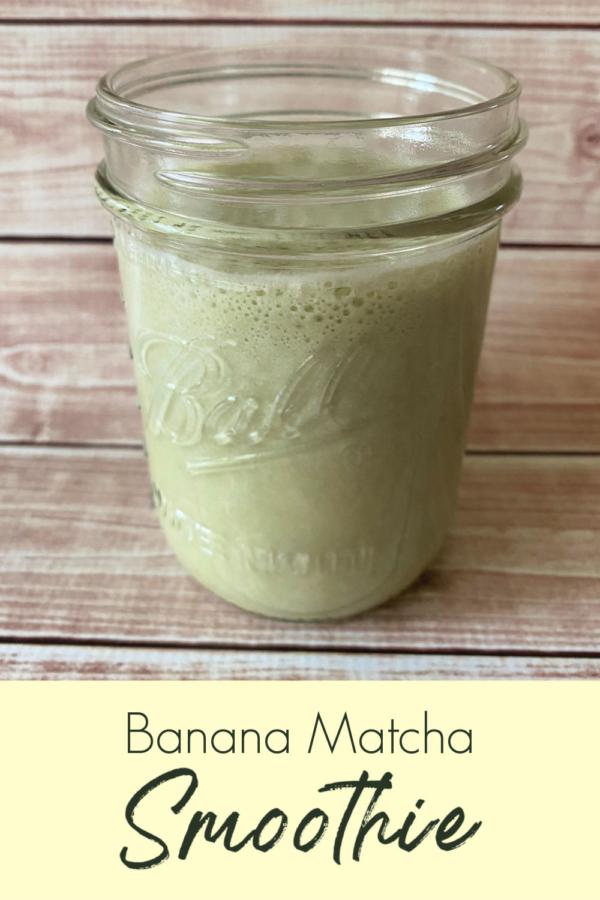 Banana Matcha Smoothie