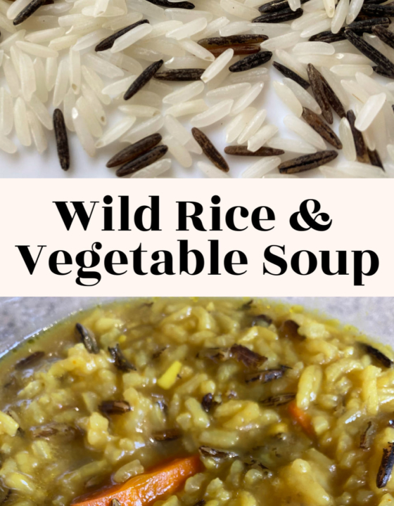 Wild Rice & Vegetable Soup