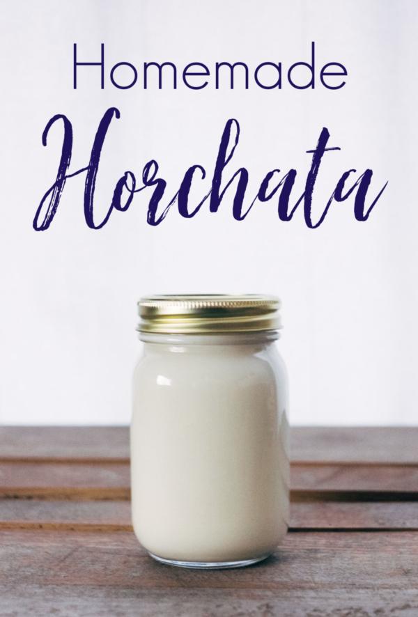 Homemade Horchata