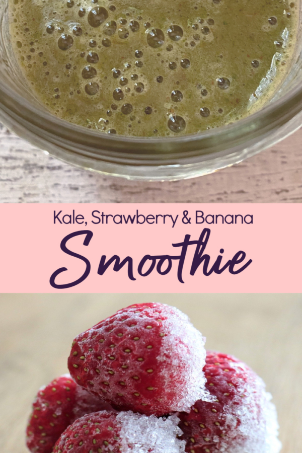Strawberry, Banana & Kale Smoothie